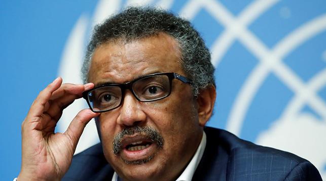 Тедрос Адханом Гебрейесус. Фото Reuters
