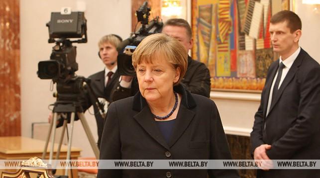 Ангела Меркель. Фото из архива