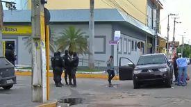 На месте происшествия. Фото Globo