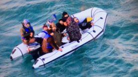 Фото из Twitter-аккаунта береговой охраны Франции