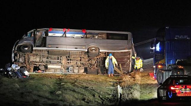 На месте происшествия. Фото BBC