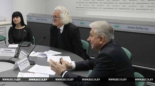 Ольга Попко, Владимир Прокопцов и Роман Мотульский