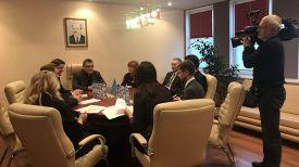 Во время встречи. Фото из социальных сетей