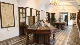 Один из экспозиционных залов Несвижского замка