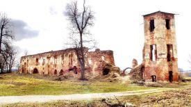Руины Гольшанского замка. Фото из архива