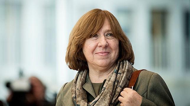 Светлана Алексиевич. Фото из архива