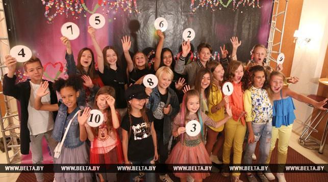 На детском конкурсе песни «Евровидение» прошла жеребьевка.
