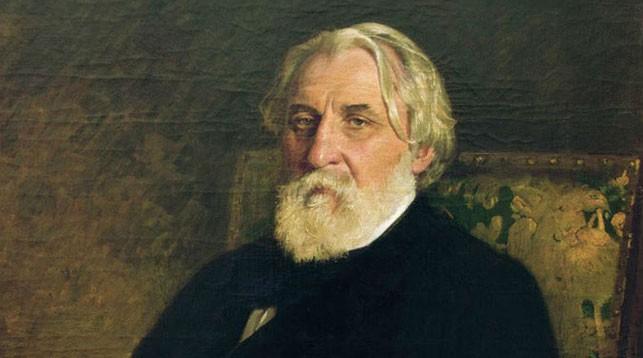 Иван Сергеевич Тургенев. Портрет работы И. Е. Репина, 1874