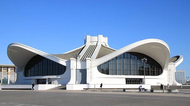"""Национальный выставочный центр """"БелЭкспо"""". Фото problr.by"""