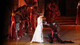 """Фрагмент балета """"Анастасия"""". Фото театра"""