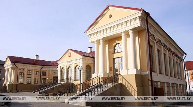 Пинск. Дворец Бутримовича. Фото из архива