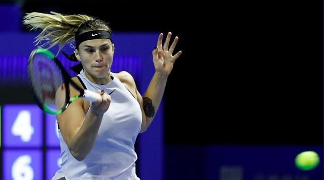 Арина Соболенко. Фото официального сайта турнира