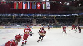 Во время матча Беларусь - Китай