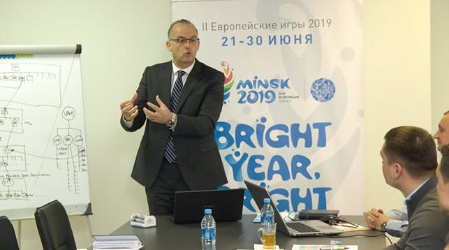 Асимакис Асимакопулос. Фото официального сайта Европейских игр