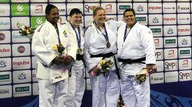 Марина Слуцкая (вторая слева)