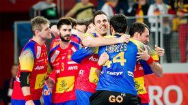 Радость испанских гандболистов. Фото EHF