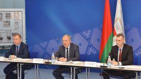 Александр Шамко, Василий Жарко и Андрей Асташевич. Фото НОК Беларуси