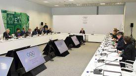 Во время заседания. Фото официального сайта Олимпиады
