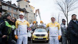 Мирослав Лайчак и Томас Бах. Фото МОК