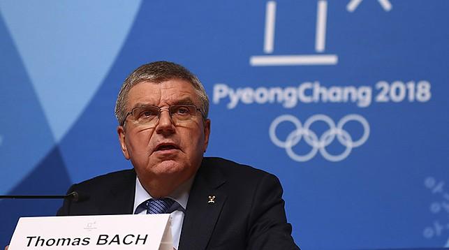 Томас Бах. Фото Reuters