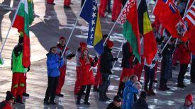 Во время церемонии закрытия Олимпийских игр