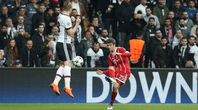 Во время матча. Фото мюнхенского клуба
