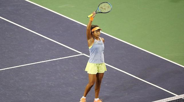 Наоми Осака. Фото официального сайта турнира