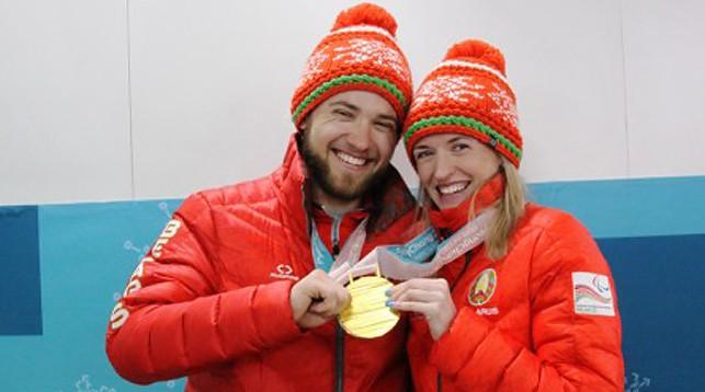 Юрий Голуб и Светлана Сахоненко. Фото Алексея Ковалева
