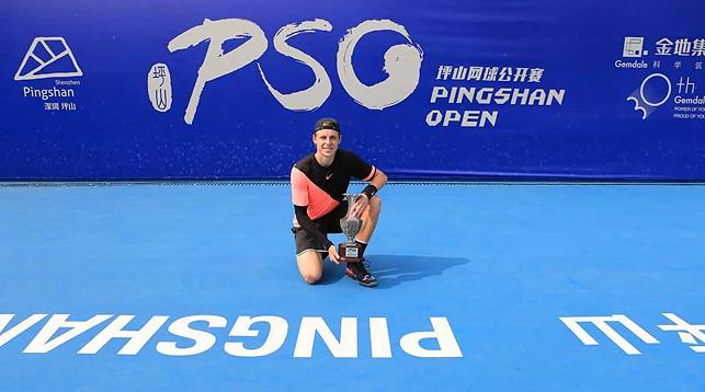 Илья Ивашко. Фото Белорусской теннисной федерации