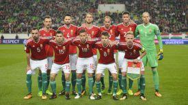 Сборная Венгрии. Фото Венгерской федерации футбола