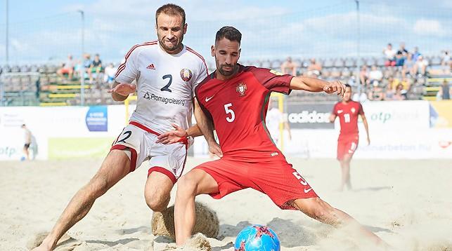 Во время матча Евролиги-2017 Беларусь - Португалия. Фото АФПФ