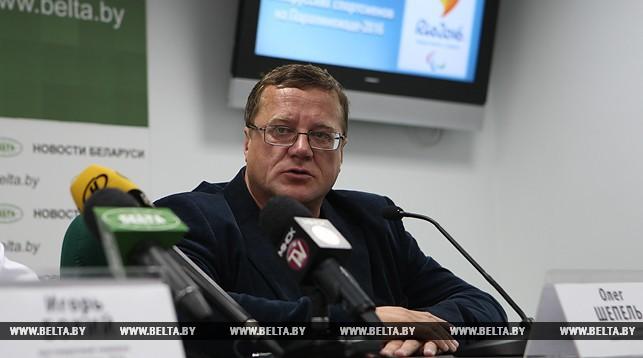 Олег Шепель. Фото из архива