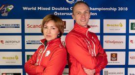 Татьяна Торсунова и Илья Шоломицкий. Фото Белорусской ассоциации керлинга