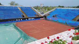 Центральный корт турнира в Будапеште. Фото из социальных сетей