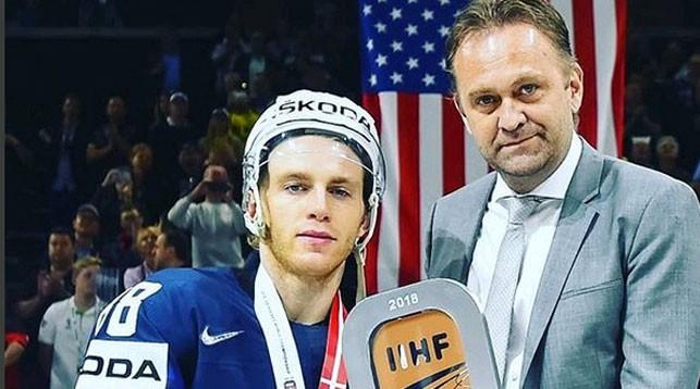 Патрик Кейн. Фото IIHF