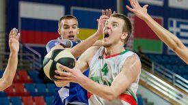 Во время матча Беларусь - Сербия. Фото Ассоциации студенческого баскетбола