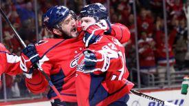 Александр Овечкин и Евгения Кузнецов. Фото NHL