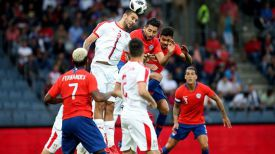 Во время матча Сербия - Чили