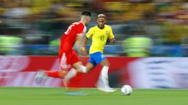 Во время матча Бразилия - Сербия. Фото из соцсетей