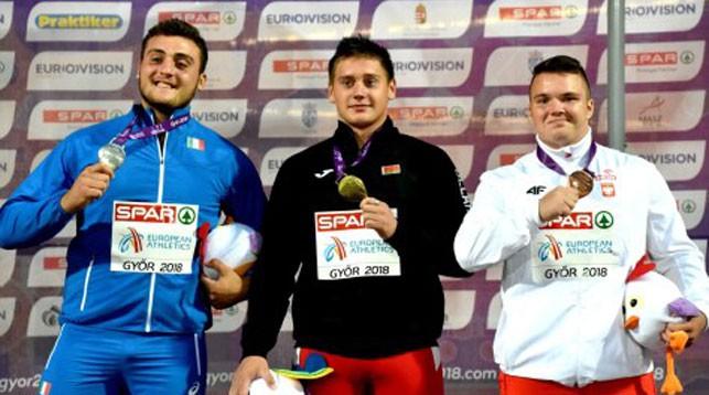 Кармело Мусчи, Алексей Александрович и Петр Годзиевич. Фото БФЛА