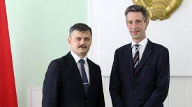 Сергей Ковальчук и Дидье Канесс. Фото Министерства спорта и туризма