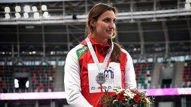 Алена Дубицкая. Фото Белорусской федерации легкой атлетики