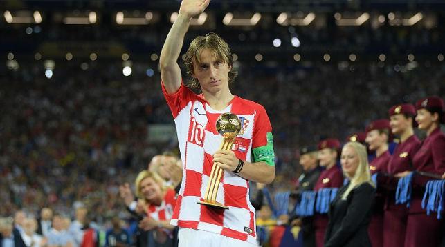 Лука Модрич. Фото Getty Images