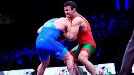 Казбек Килов (справа) во время решающего поединка. Фото из социальных сетей