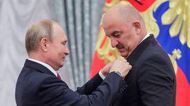 Владимир Путин и Станислав Черчесов. Фото ТАСС