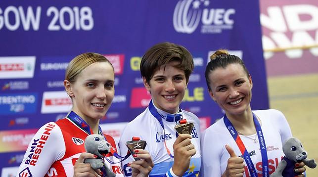 Инна Савенко, Мария Конфалоньери и Гульназ Бадыкова. Фото UEC