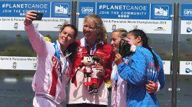 Елена Ноздрева (справа). Фото организаторов чемпионата мира