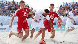 Во время матча. Фото beachsoccer.com
