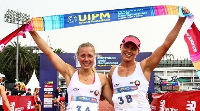 Ирина Просенцова и Анастасия Прокопенко. Фото UIPM