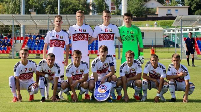 Сборная Беларуси (U-19). Фото АБФФ
